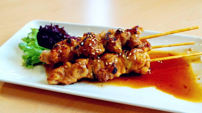 food at a japanese restaurant ireland